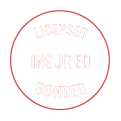 licensed insured and bonded badge