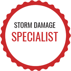storm damage specialist badge